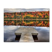 "Trademark Fine Art 'Autumn' 30"" x 47"" Canvas Art"