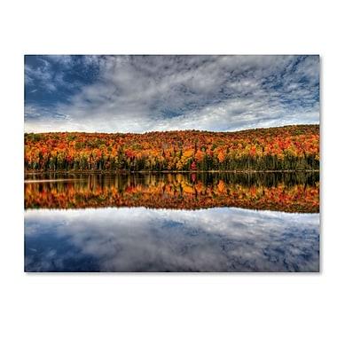 Trademark Fine Art 'Autumn Reflection' 22