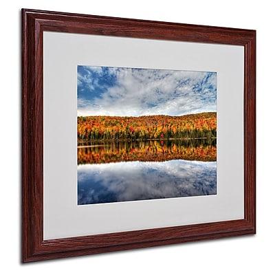 Trademark Fine Art 'Autumn Reflection' 16