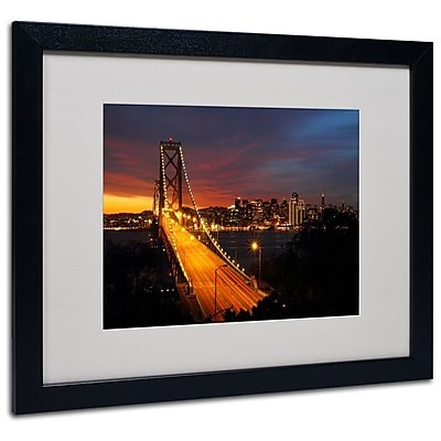 Trademark Fine Art 'Bay Bridge' 16