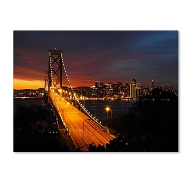 Trademark Fine Art 'Bay Bridge' 22
