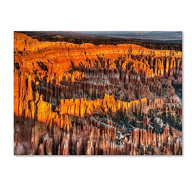 Trademark Fine Art 'Bryce Canyon Sunrise' 30