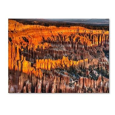 Trademark Fine Art 'Bryce Canyon Sunrise' 14
