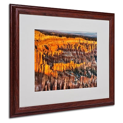 Trademark Fine Art 'Bryce Canyon Sunrise' 16