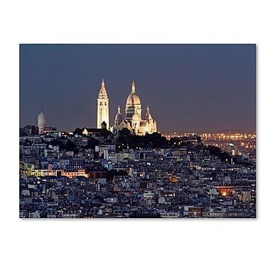 Trademark Fine Art 'Butte Montmartre' 14
