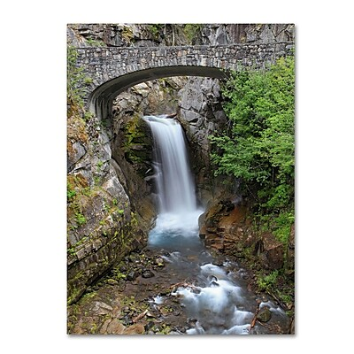 Trademark Fine Art 'Christine Falls Rainier' 14