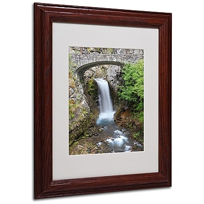 Trademark Fine Art 'Christine Falls Rainier' 11