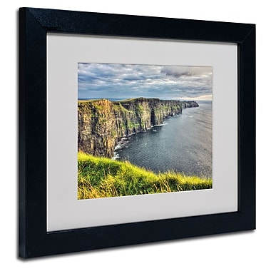 Trademark Fine Art 'Cliffs of Moher Ireland' 11