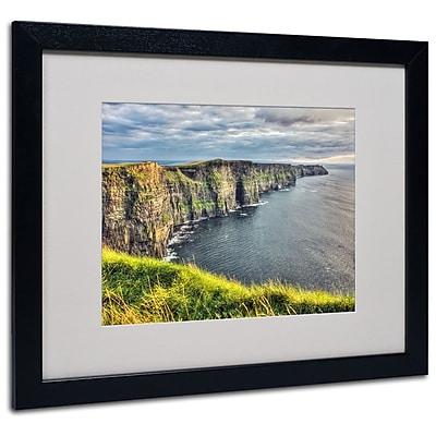 Trademark Fine Art 'Cliffs of Moher Ireland' 16