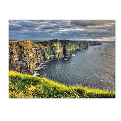 Trademark Fine Art 'Cliffs of Moher Ireland' 22