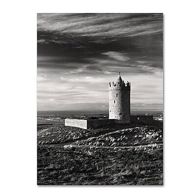 Trademark Fine Art 'Doonagore Castle Ireland' 30