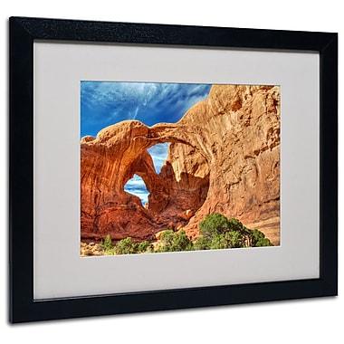 Trademark Fine Art 'Double Arch' 16