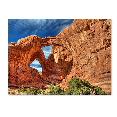 Trademark Fine Art 'Double Arch' 22