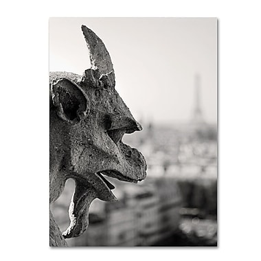 Trademark Fine Art 'Gargoyle Paris' 30
