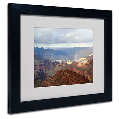 Trademark Fine Art 'Grand Canyon Rainbow' 11