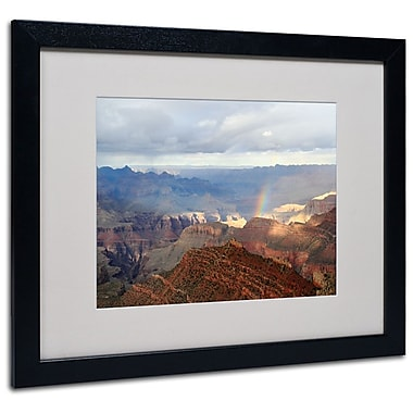Trademark Fine Art 'Grand Canyon Rainbow' 16