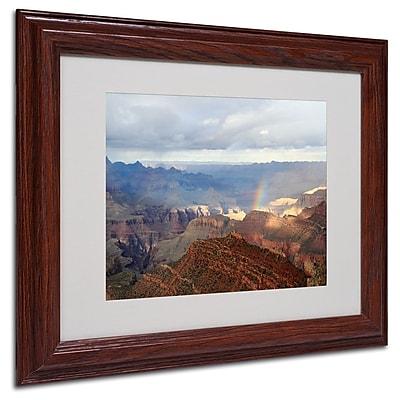 Trademark Fine Art 'Grand Canyon Rainbow' 11