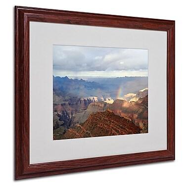 Trademark Fine Art 'Grand Canyon Rainbow' 16