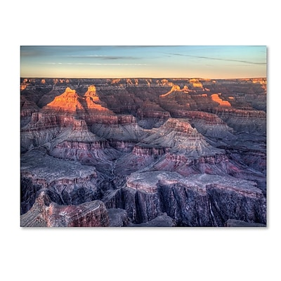Trademark Fine Art 'Grand Canyon Sunset' 14