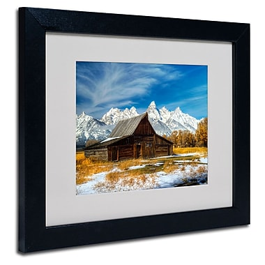 Trademark Fine Art 'Iconic Barn Grand Teton'