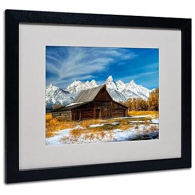 Trademark Fine Art 'Iconic Barn Grand Teton' 16
