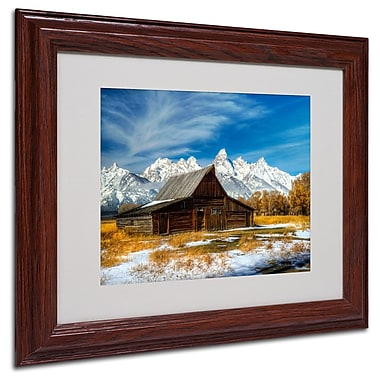 Trademark Fine Art 'Iconic Barn Grand Teton' 11