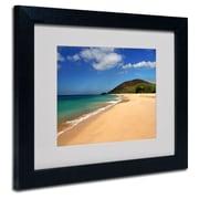 Trademark Fine Art 'Makena Hawaii'
