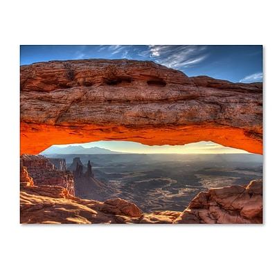 Trademark Fine Art 'Mesa Arch Sunrise' 30