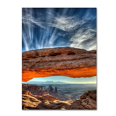 Trademark Fine Art 'Mesa Arch Sunrise 2' 30
