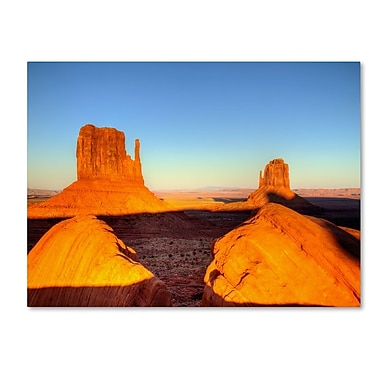 Trademark Fine Art 'Monument Valley Sunset' 30