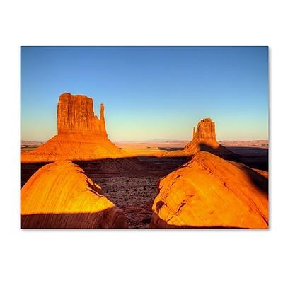 Trademark Fine Art 'Monument Valley Sunset' 30