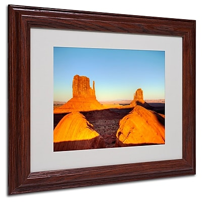 Trademark Fine Art 'Monument Valley Sunset' 11