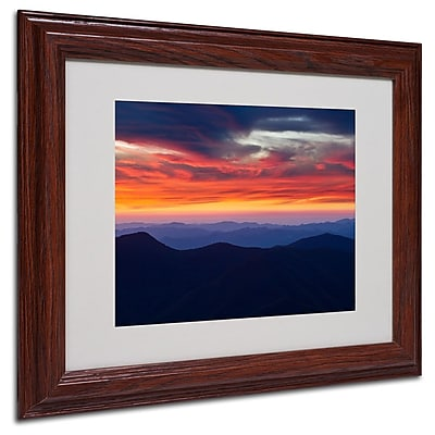 Trademark Fine Art 'Mount Mitchell Sunset' 11