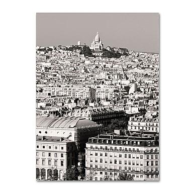 Trademark Fine Art 'Paris Montmartre' 14