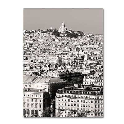 Trademark Fine Art 'Paris Montmartre' 22