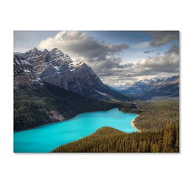 Trademark Fine Art 'Peyto Lake' 30