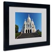"""Trademark Fine Art 'Sacred Heart' 16"""" x 20"""" Wood Frame Art"""