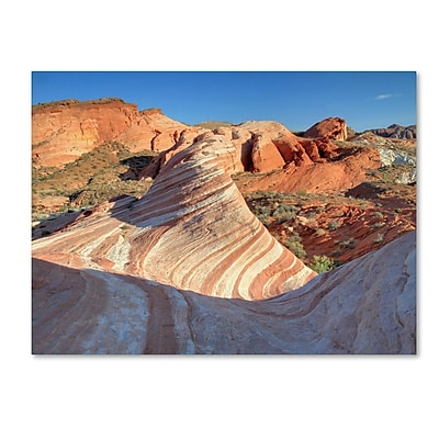 Trademark Fine Art 'Valley of Fire Wave' 30