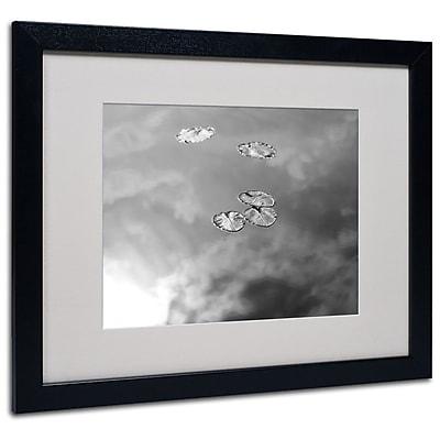 Trademark Fine Art 'Lily Pads & Sky' 16