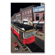 Trademark Fine Art 'Bourbon Street Trolley'