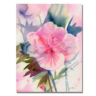 Trademark Fine Art 'Pink Hibiscus Bloom' 24