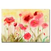 Trademark Fine Art 'Poppy Field'