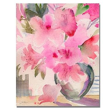 Trademark Fine Art 'Pink Azaleas' 35