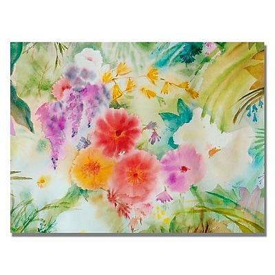 Trademark Fine Art 'Dream Flowers' 24