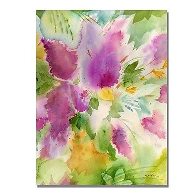 Trademark Fine Art 'Lilacs' 35