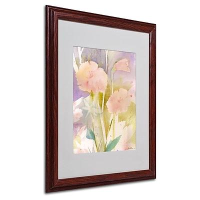 Trademark Fine Art 'Pink Dragonfly Shadows' 16