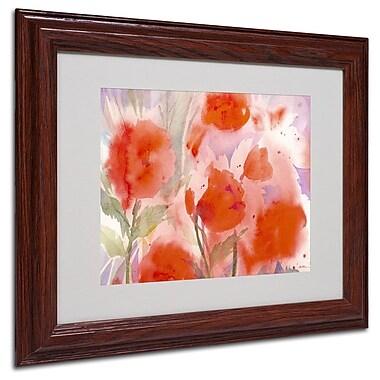 Trademark Fine Art 'Crimson Field' 11