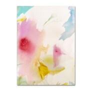 "Trademark Fine Art 'Pink Interlude B' 18"" x 24"" Canvas Art"
