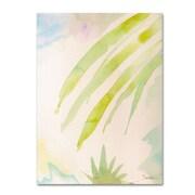 "Trademark Fine Art 'Pink Interlude C' 18"" x 24"" Canvas Art"