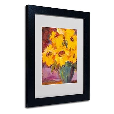 Trademark Fine Art 'Sunflower #5' 11